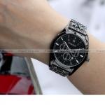 นาฬิกาข้อมือ ผู้ชาย สาย Stainless มีวันที่ แบบคลาสสิค ใส่ได้ตลอด Curren Brand สีเงิน สีดำ หน้าปัดดำ และ หน้าปัดขาว ของขวัญให้แฟน 575400