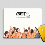 Preorder แผ่นรองเมาส์ยาง GOt7 Fly collection SBD1070