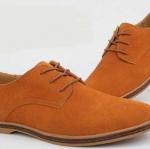 รองเท้าหุ้มส้น ผู้ชาย รองเท้าผู้ชาย หุ้มส้น ใส่ออกงาน แบบสุภาพ สไตล์ Oxford แฟชั่นยุโรป สีน้ำตาล อมส้ม แบบสวย มีสไตล์ 17024_4