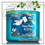 Bath & Body Works Slatkin & Co / Candle 14.5 oz. (Snowflakes & Citrus)