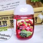 Bath & Body Works / PocketBac Sanitizing Hand Gel 29 ml. (Fresh Strawberries)
