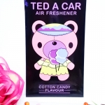 Ted A Car / Air Freshener (Cotton Candy)