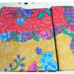 ผ้าถุงสำเร็จรูป ลายไทย สีแดง P004