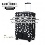 Luggage protective cover - ถุงคลุมกระเป๋าเดินทาง ผ้าคลุมกระเป๋าเดินทาง กันรอย กันน้ำ กันฝุ่น กันกระเป๋าเปิด