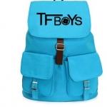 กระเป๋าเป้ TFBOYS 2014 สีฟ้า