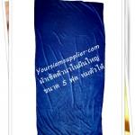 ผ้าเช็ดตัวนาโน ผ้าเช็ดตัวเนื้อนุ่ม สีน้ำเงิน 5 ฟุต