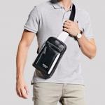 กระเป๋าคาดอก ผู้ชาย กระเป๋าหนัง polo คาดด้านหน้า กระเป๋าคาดอกหนัง แนวสปอร์ต กันน้ำได้ แบบสวย ดีไซน์เท่ 409353