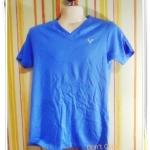 เสื้อยืด American eagle เนื้อนุ่ม สีฟ้าคราม A002