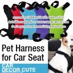 DOG Seat belts - สายคาดเบลท์สำหรับสัตว์เลี้ยง เข็มขัดนิรภัย