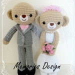 "Wedding Bear 2 (15"")"