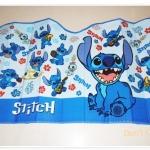 ม่านบังแดดรถยนต์ ลาย การ์ตูน Stitch สีฟ้า