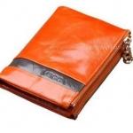 กระเป๋าสตางค์ผู้หญิง ใบสั้น กระเป๋าสตางค์ หนังแท้ หนังวัว ลง Oil wax รุ่นซิปคู่ ใส่บัตร ใส่เงิน ใส่เหรียญ ได้จุใจ สีส้ม สด 548786_3