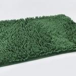 พรมเช็ดเท้า ไมโครไฟเบอร์ 40*60 cm สีเขียวแก่