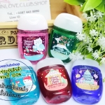 Bath & Body Works / PocketBac Sanitizing Hand Gel 29 ml. Pack 5 ขวด (Mix 5 Scent #Holiday Traditions)