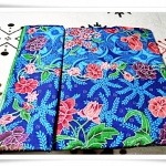 ผ้าถุงสำเร็จรูป ลายไทย สีฟ้า P001