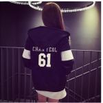 เสื้อกันหนาว Exo Chanyeol มีซิป