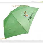 ร่มพับได้ ร่มกันแดด กันฝน Angry Bird สีเขียว