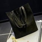 กระเป๋าสะพายข้าง กระเป๋าถือ ผู้หญิง ทรงแบน สี่เหลี่ยม กระเป๋าหนัง สีพื้น สีดำ กระเป๋าสะพาย แฟชั่นยุโรป มีช่องแยกใส่ของ ได้เยอะ 775786_1