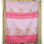 ผ้าม่านสำเร็จรูป สำหรับหน้าต่าง สีชมพูหวาน