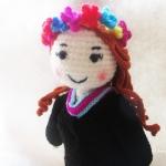 ตุ๊กตารับปริญญาถักโครเชต์