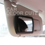 กระจกแต่งหน้าเสริมสำหรับผู้หญิงติดที่บังแดด - Car cosmetic mirror sunshade panel