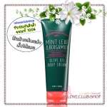 Bath & Body Works / Olive Oil Body Cream 226 ml. (Mint Leaf & Bergamot) *Limited Edition
