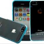 เคส iphone 5 5s นวัตกรรมใหม่ เคสเรืองแสง สีฟ้า shell neon no 856009