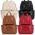 กระเป๋าเป้ กระเป๋าสะพายหลัง Back Pack ผู้หญิง หนัง Pu กันน้ำได้ ดีไซน์ สวย ขนาดกำลังดี ใช้งานทนทาน กระเป๋าหนัง สะพายหลัง 347590