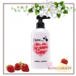 I Love... / Body Lotion 250 ml. (Strawberries & Cream) *ส่งฟรี
