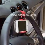 อุปกรณ์ยึดโทรศัพท์มือถือเข้ากับพวงมาลัยรถยนต์ ใช้กับมือถือได้ทุกรุ่นคะ