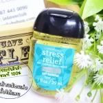 Bath & Body Works / PocketBac Sanitizing Hand Gel 29 ml. (Stress Relief - Eucalyptus Spearmint)