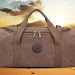 กระเป๋าเดินทาง กระเป๋าใส่เสื้อผ้า กระเป๋าฟิตเนส เข้ายิม กระเป๋าใส่เสื้อผ้า ผ้าแคนวาส แบบเท่ ๆ กระเป๋าออกกำลังกาย 146796