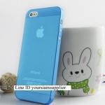 ซื้อ 1 แถม 1 Case ใส่ Iphone 5 5s แบบใส สีฟ้า