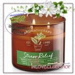 Bath & Body Works Slatkin & Co / Candle 14.5 oz. (Stress Relief - Eucalyptus Spearmint) *ขายดี