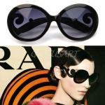 แว่นตาแฟชั่น แว่นดำกันแดด แบบสวย ราคาถูก J001