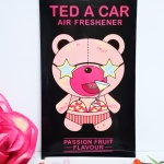 Ted A Car / Air Freshener (Passion Fruit)