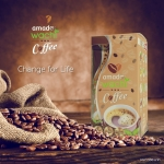 "AMADO WACHI COFFEE CHANGE FOR LIFE"" กาแฟสำหรับคนรักสุขภาพ"
