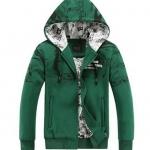 เสื้อ แจ็คเก็ต ผู้หญิง ผู้ชาย ใส่ได้ เสื้อหมวก ผ้า Cotton สีเขียว สไตล์ วินเทจ คลาสสิค เสื้อ Jacket กันหนาว วัยรุ่น เท่ ๆ 116141_2