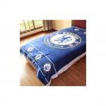 ผ้าห่มกำมะหยี่ เนื้อนุ่ม 5 ฟุต ลายทีมฟุตบอล Chelsea