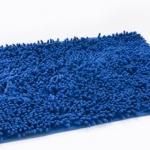 พรมเช็ดเท้า ไมโครไฟเบอร์ 40*60 cm สีน้ำเงิน