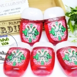 Bath & Body Works / PocketBac Sanitizing Hand Gel 29 ml. Pack 5 ขวด (Candy Cane Bliss)