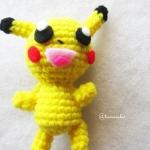 พวงกุญแจแมวโปเกม่อนถัก pokemon amigurumi crochet keychain