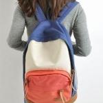 กระเป๋าเป้ กระเป๋าสะพายหลัง นำเข้าญี่ปุ่น สีชมพู น้ำเงิน สไตล์ Out Door