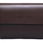 กระเป๋าถือนักธุรกิจ กระเป๋าถือผู้ชาย ขนาดกลาง หนังแท้ สีน้ำตาล no 53045_1