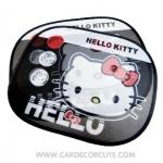 HELLO KITTY - แผ่นบังแดดข้างรถยนต์