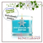 Bath & Body Works Slatkin & Co / Mini Candle 1.3 oz. (Fresh Sparkling Snow)
