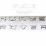 โลโก้สติกเกอร์ - RANGER LOVER LOGO ขนาดมาตราฐาน Light Silver
