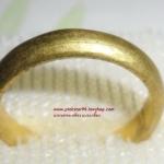 (ขายแล้วค่ะ) C010#1 แหวนทองเหลืองแบบเกลี้ยง