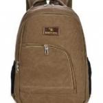 กระเป๋าเป้ กระเป๋าสะพายหลัง ผ้าแคนวาส สีพื้น ผู้หญิง ผู้ชาย ใช้ได้ กระเป๋าใส่เสื้อผ้า Backpack เที่ยวต่างประเทศ ขนาดกำลังดี 9003423