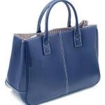 กระเป๋าถือ ผู้หญิง กระเป๋าถือ หนัง Pu ขนาดกระทัดรัด สีพื้น สีน้ำเงิน กรมท่า ทนทานสุด ๆ No 39848_2